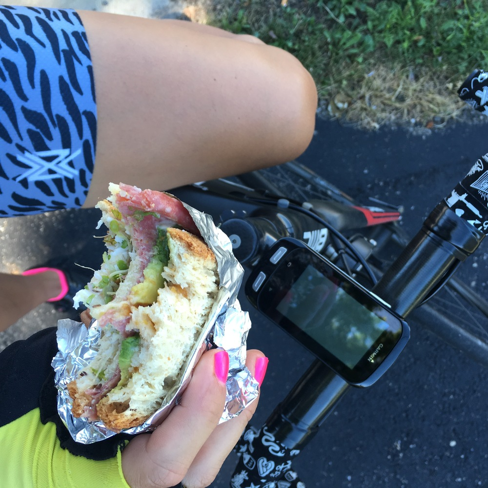 Eating more real food on the bike