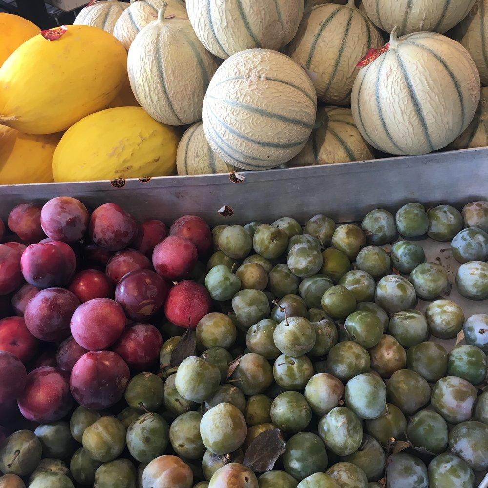 So much beautiful fresh produce