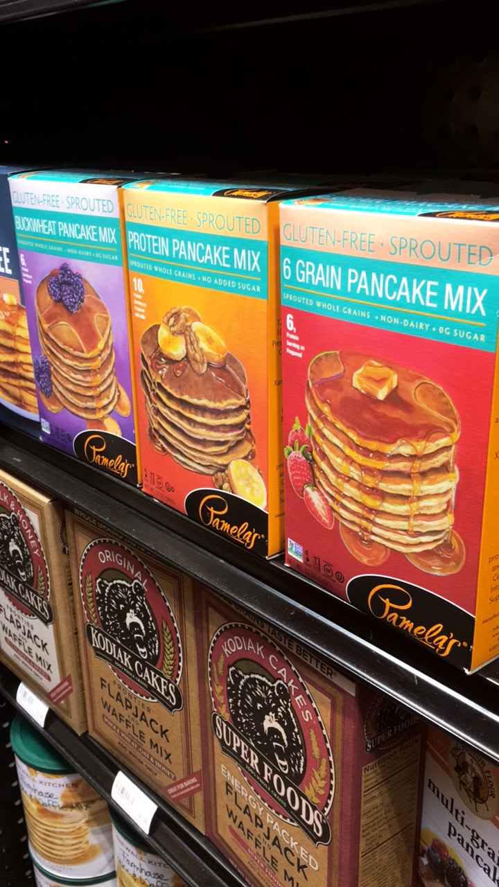 Drooling over my favorite pancake mixes