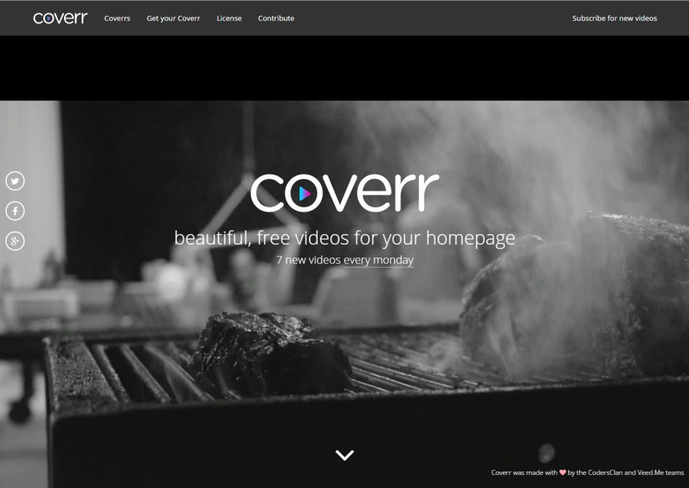TIP COVERR Is The Perfect Tool For Launching A Video Homepage