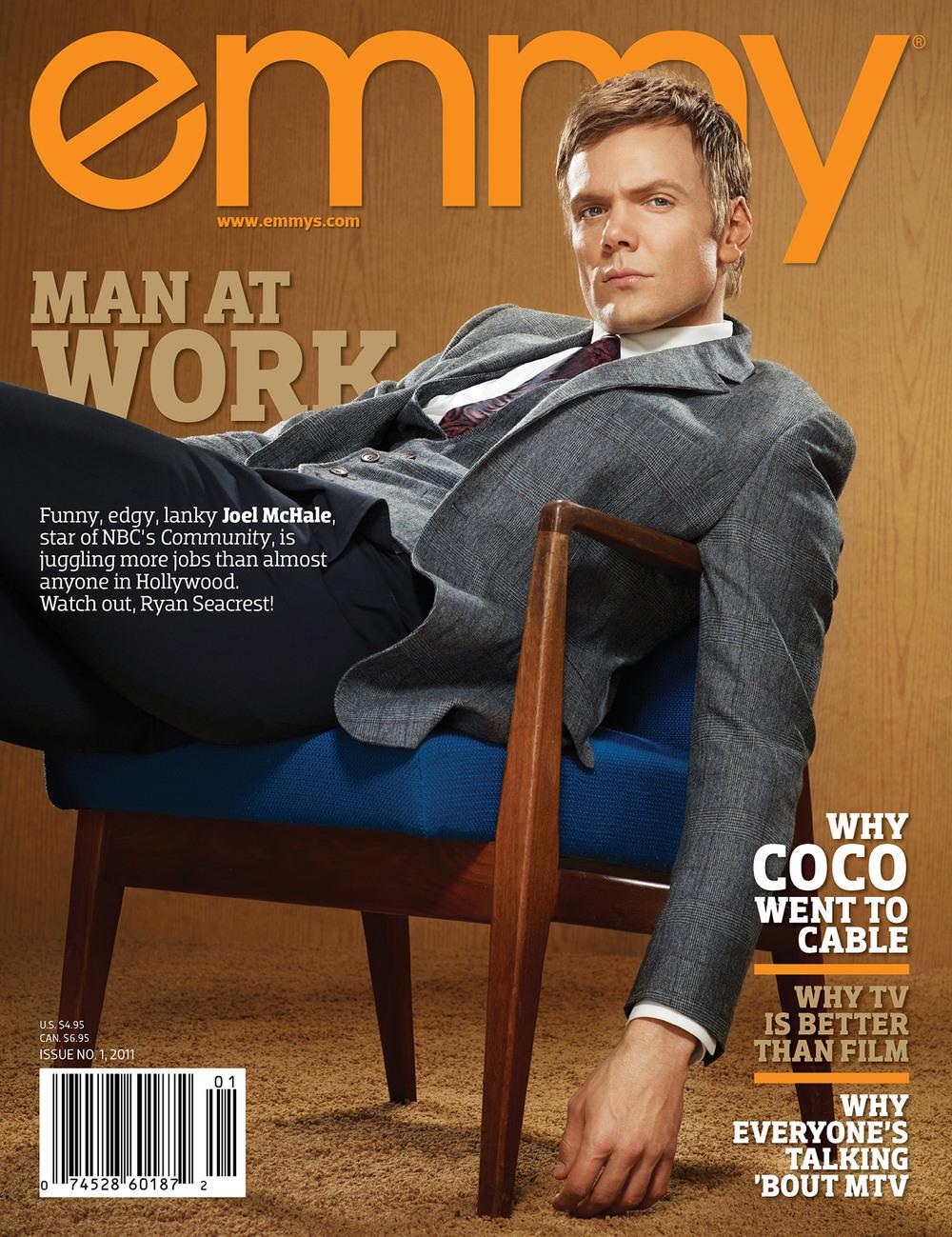 Emmy Magazine - Joel McHale