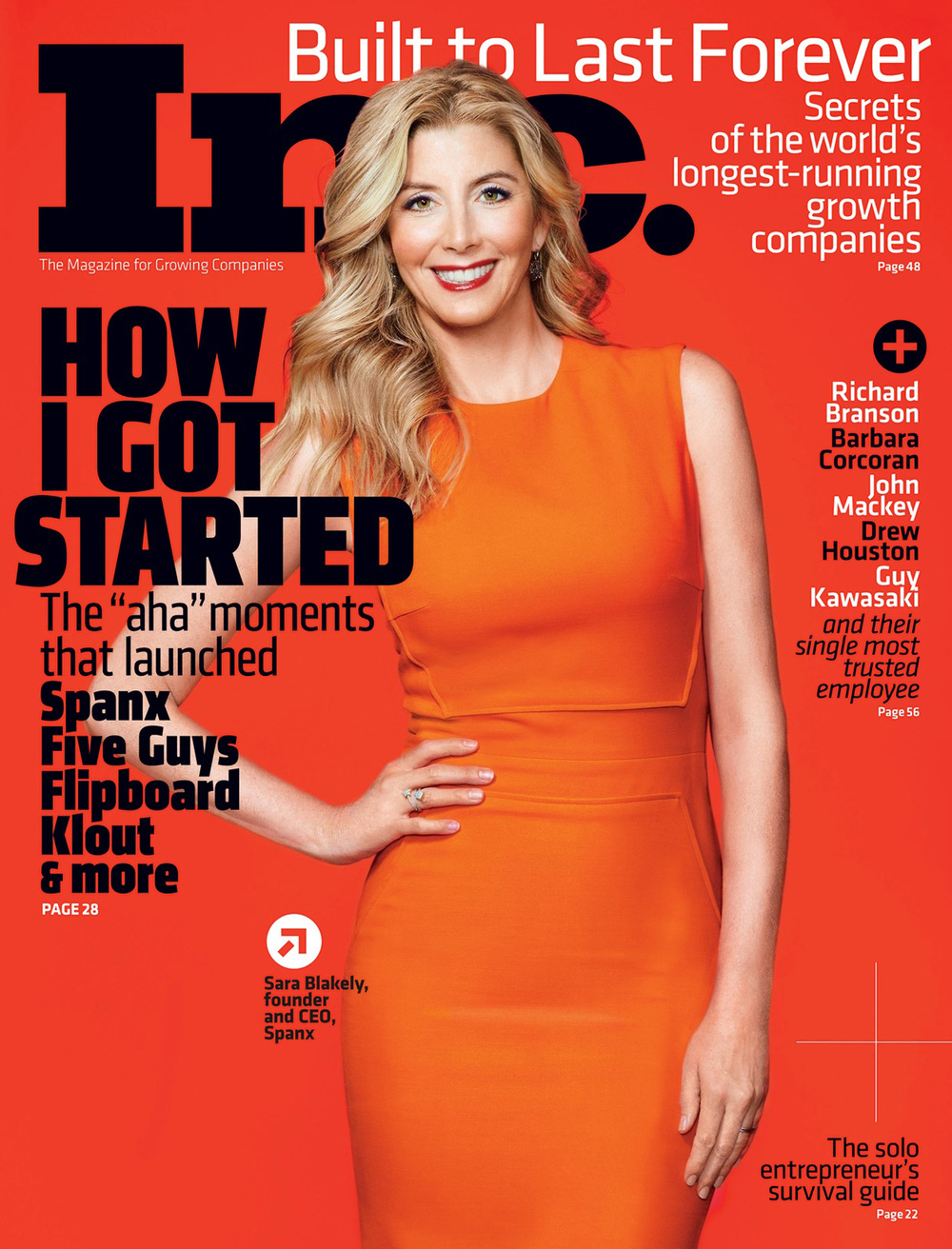 Sara Blakely - Inc Magazine