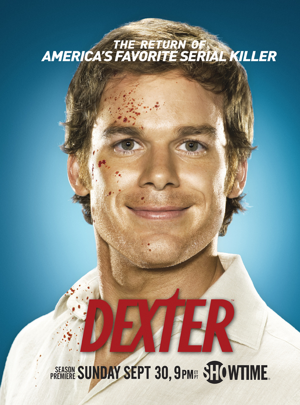 Michael C Hall - Dexter Poster