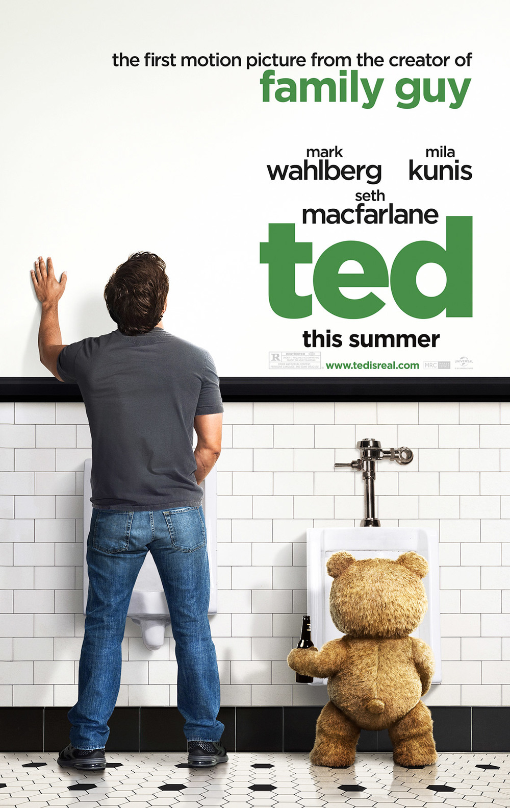 Mark Wahlberg - Ted Poster
