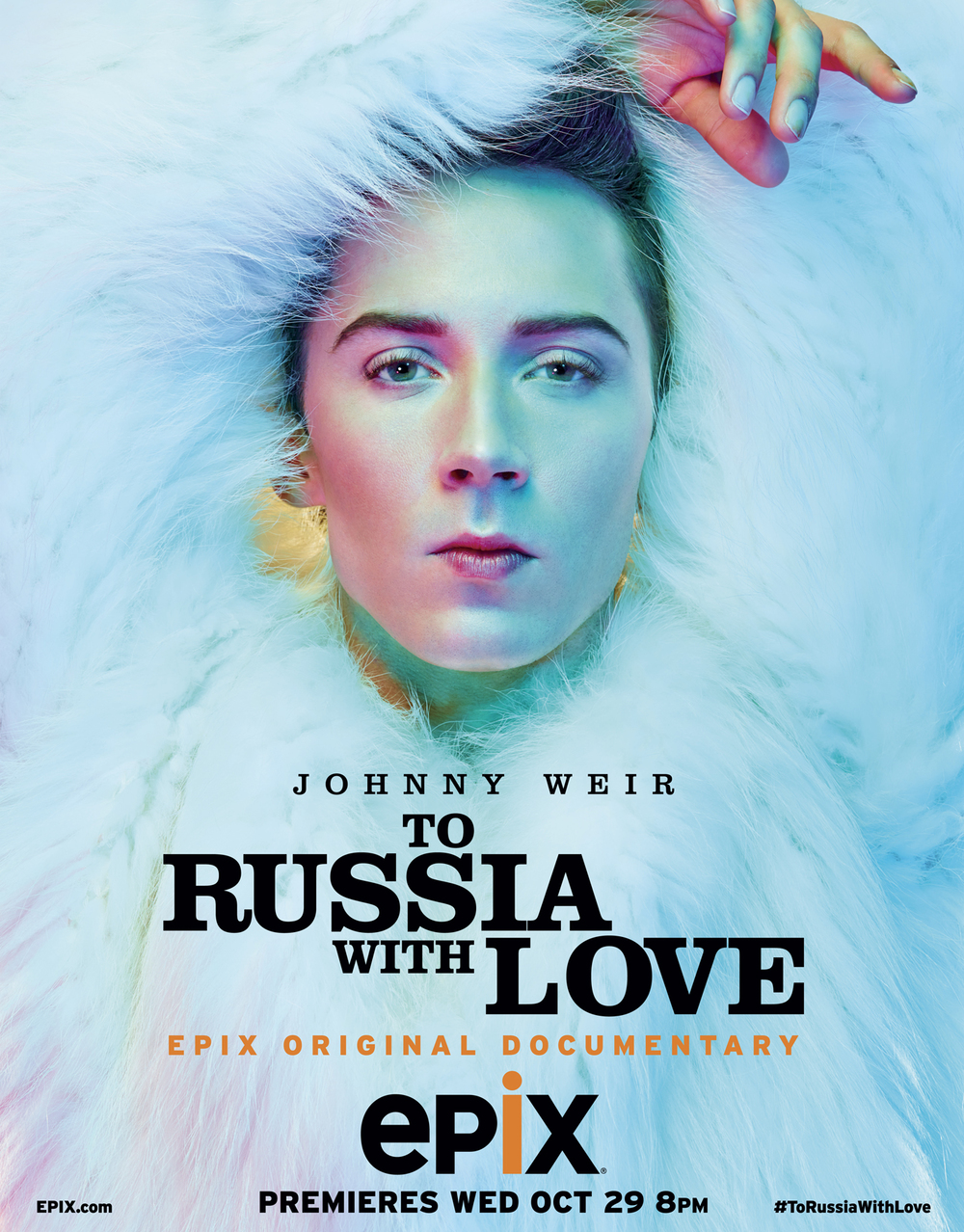 Johnny Weir To Russia With Love Poster