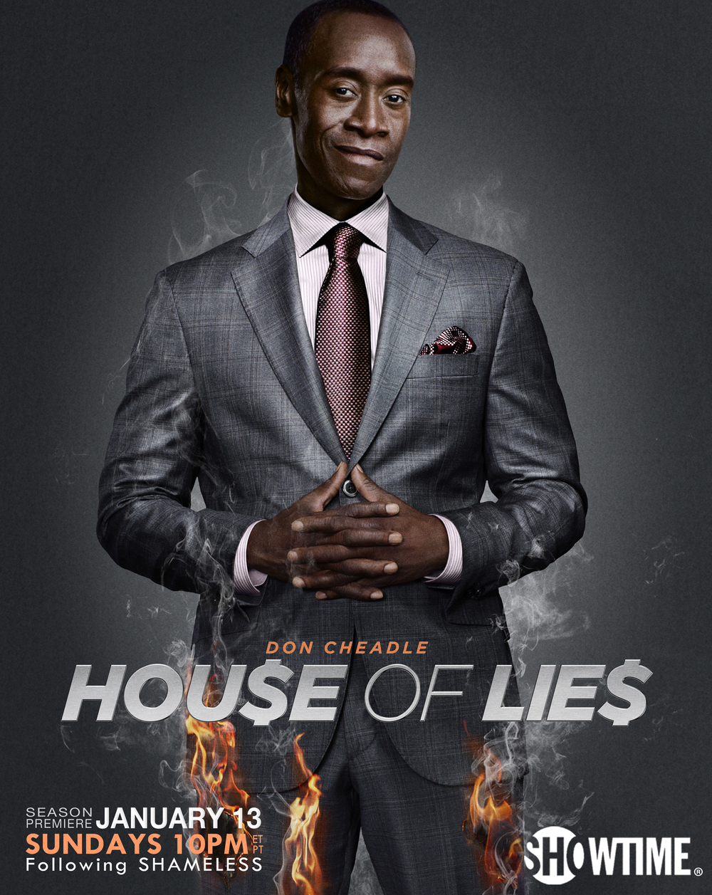 Don Cheadle - House of Lies Poster