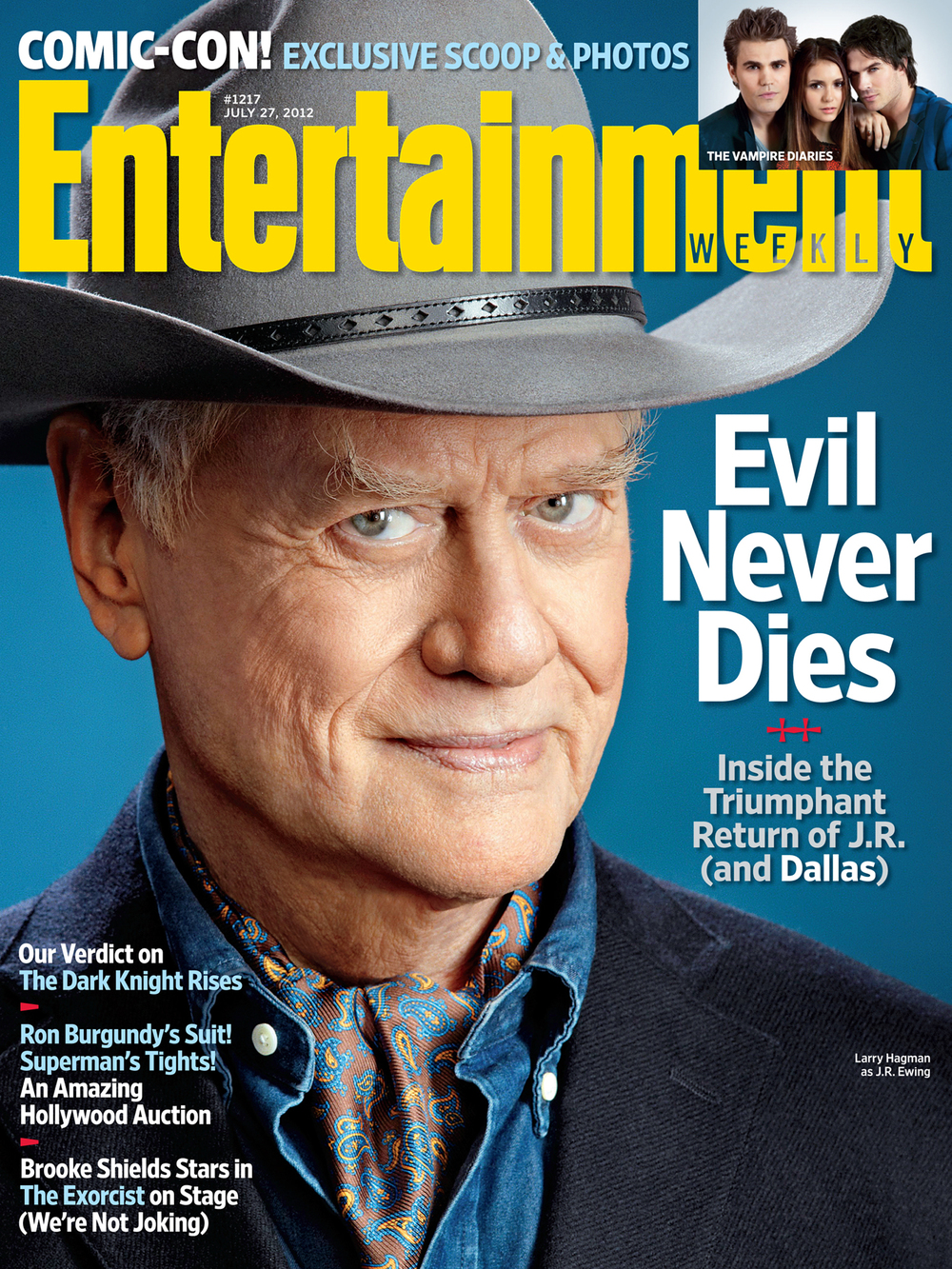 Entertainment Weekly – Larry Hagman