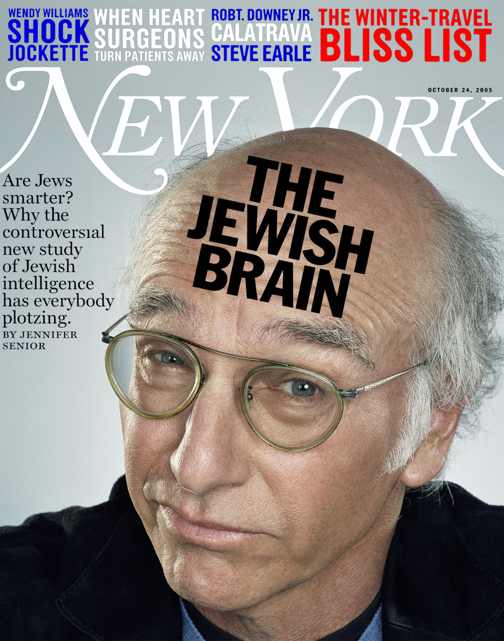 New York Magazine - Larry David