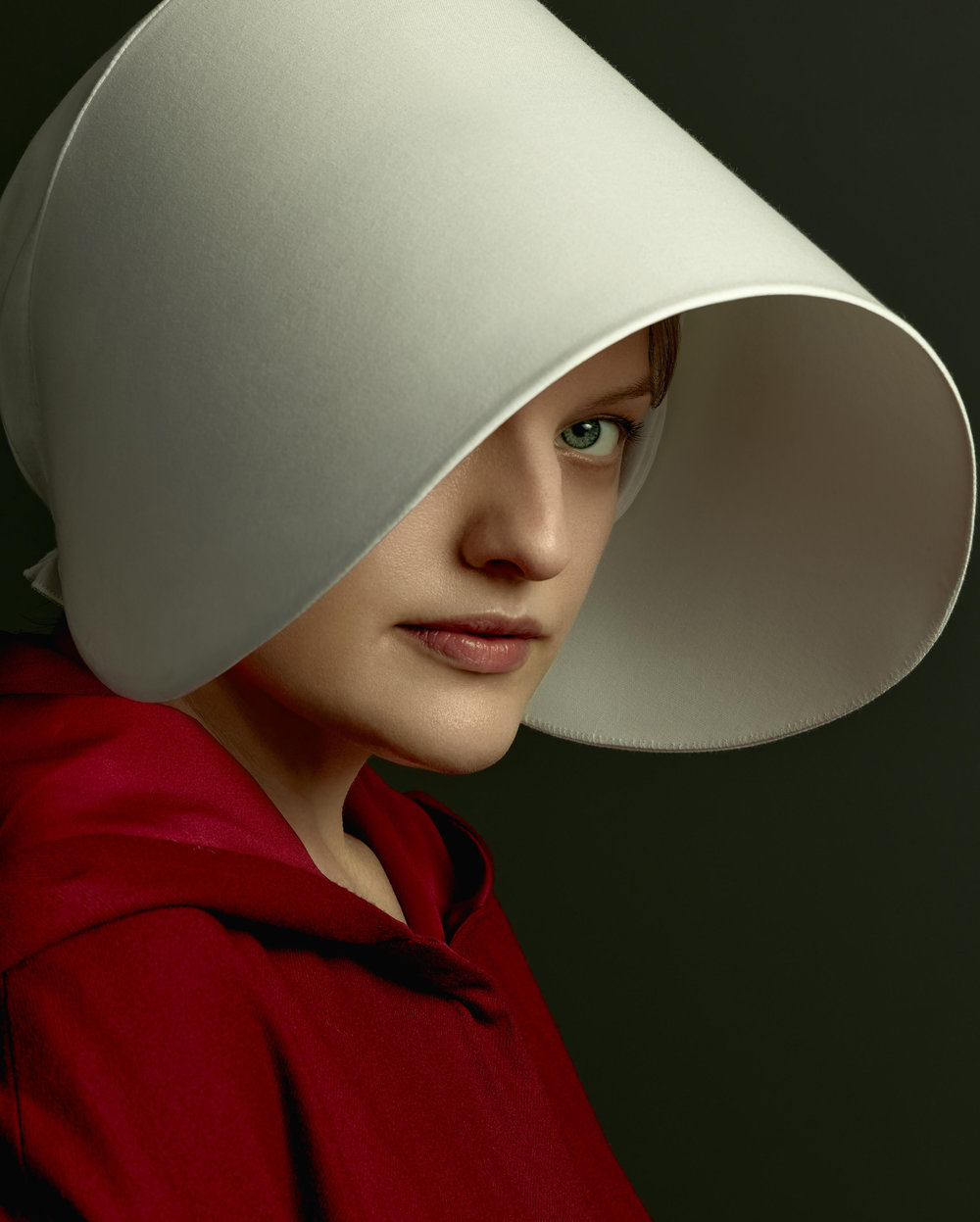 Elisabeth Moss in Handmaid's Tale