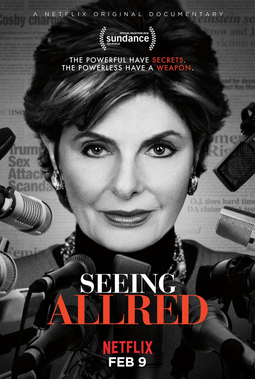 Gloria Allred - Seeing Allred Poster