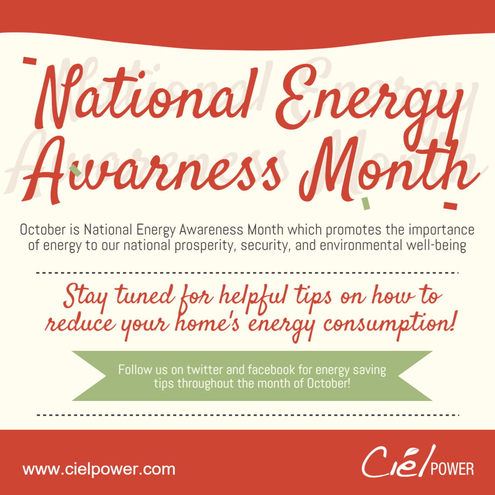 Ciel celebrates National Energy Awareness Month