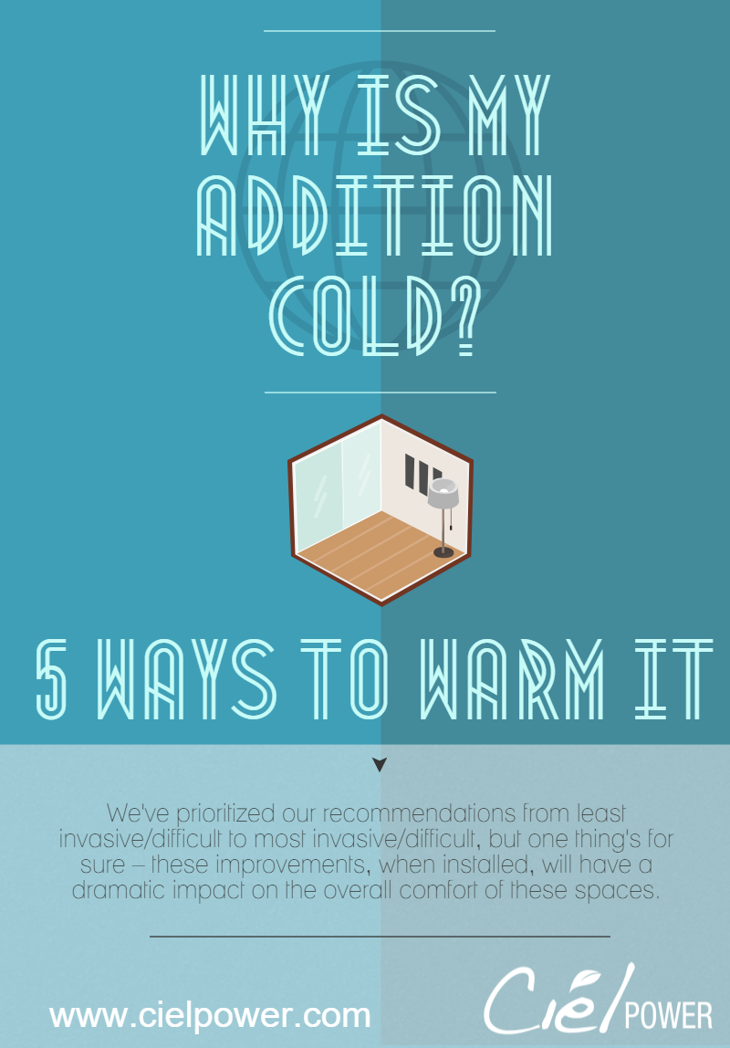 Why Is My Addition Always Cold? Five Ways To Improve The Comfort of ...
