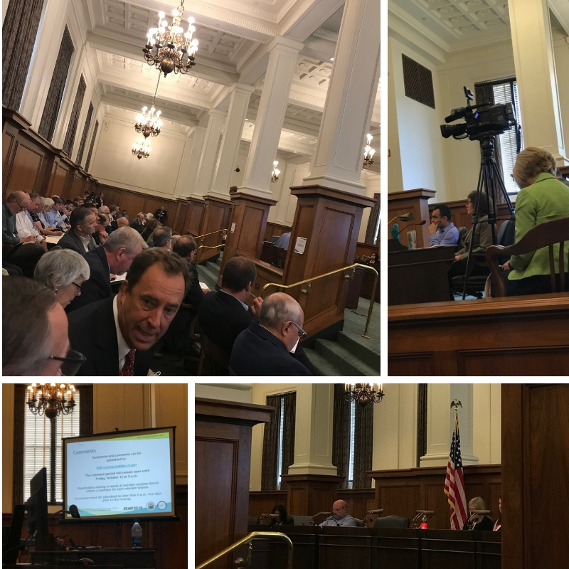 To achieve the Governor's ambitious energy goals, the Energy Master Plan Committee is organized into five work groups. The Reducing Energy Consumption Forum took place on September 14th, 2018 at the New Jersey Statehouse and was led Sara Bluhm, Business Ombudsman for the New Jersey Board of Public Utilities.