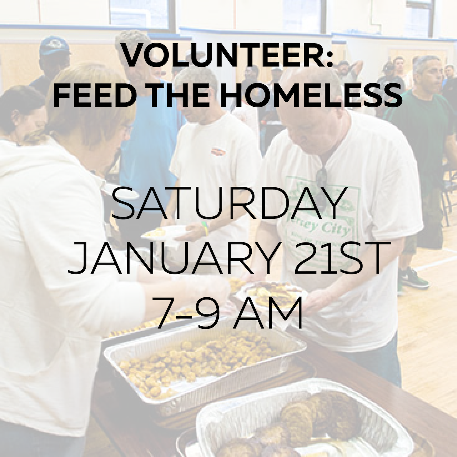 Volunteer @ Local Soup Kitchen — Downtown Community Church