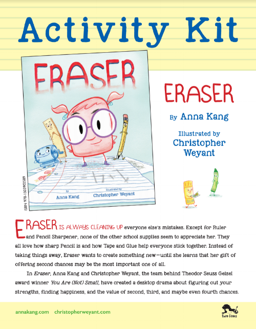 Download the ERASER ACTIVITY KIT  HERE .