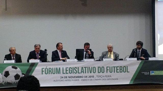 Ricardo Borges Martins, diretor Executivo do Bom Senso FC, apresentou a baixa exploração da indústria do Futebol no Brasil como exemplo do subaproveitamento do potencial econômico da modalidade, em evento na Câmara dos Deputados.