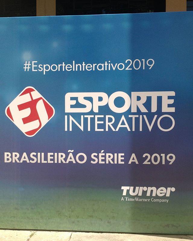 Bom Senso FC presente ao evento do Esporte Interativo sobre a transmissão do Brasileirão, a partir de 2019 na TV fechada.