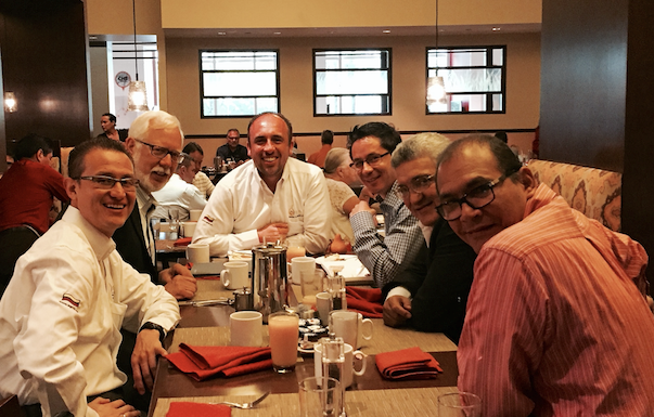 IFSA Managing Director Russ Fleming Meets with Founders of ANRACI-Colombia at NFPA in June of 2015