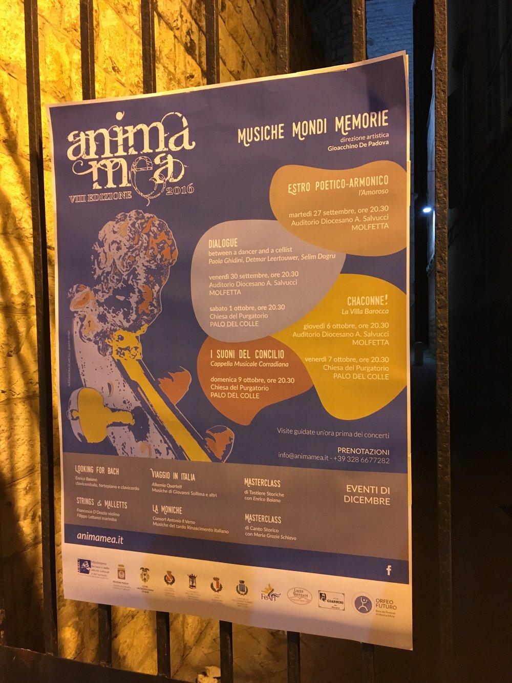 Anima Mea Festival 2016.
