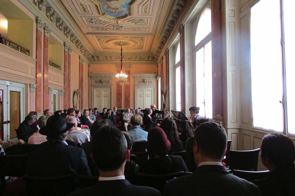 Foyer of the Teatro Colón.
