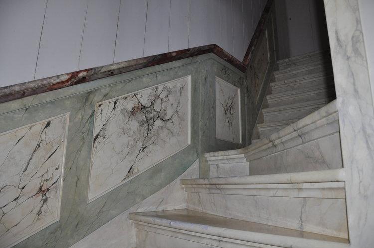 Pintura de mármol por Helmer Hut.