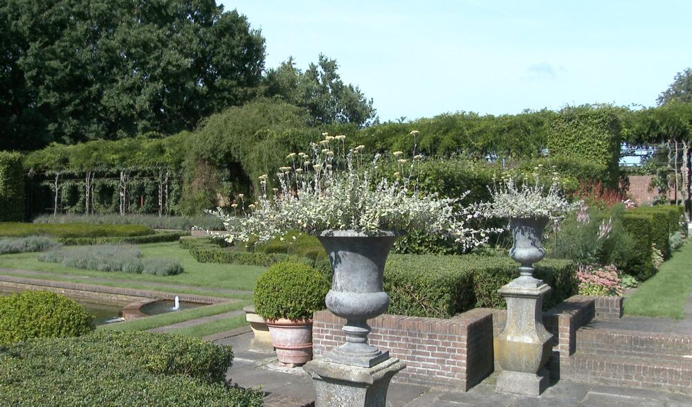 El 'Jardin inglés' diseñado por Janneke van Groeningen-Hazenberg.