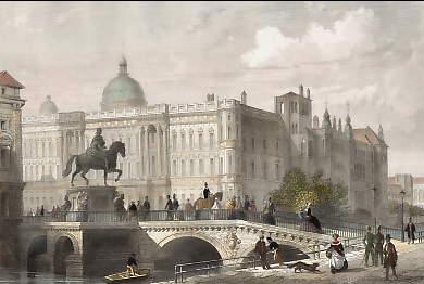 Berlín en los tiempos de van Beethoven. El palacio real.