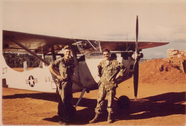 John Sacco joined the Air Force in 1966.