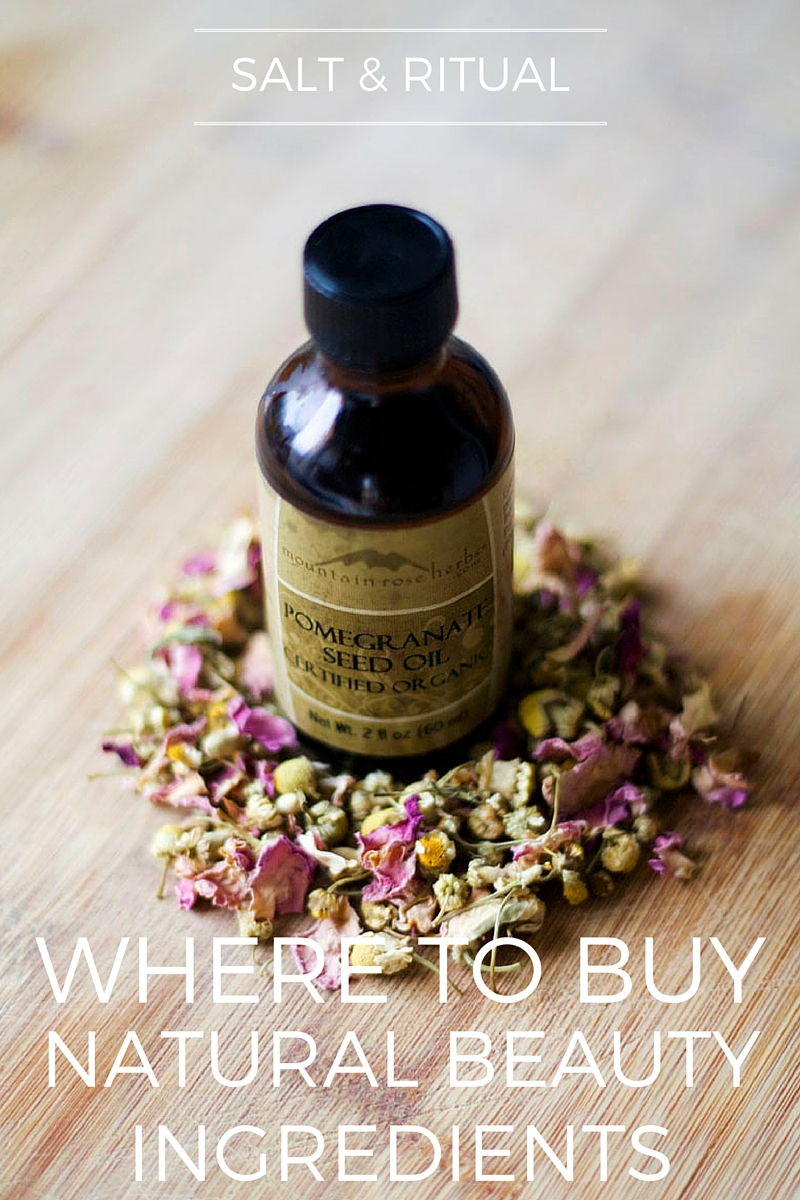 The Best Place to Buy Natural Beauty Ingredients