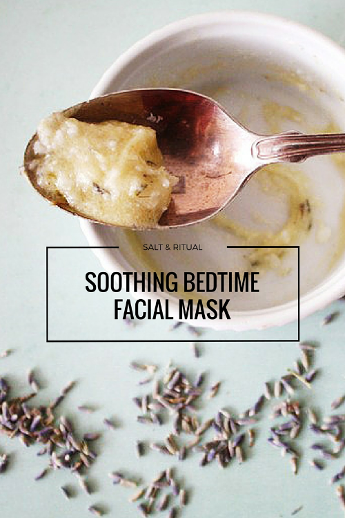 Soothing Bedtime Facial Mask. Love this facial! So relaxing.
