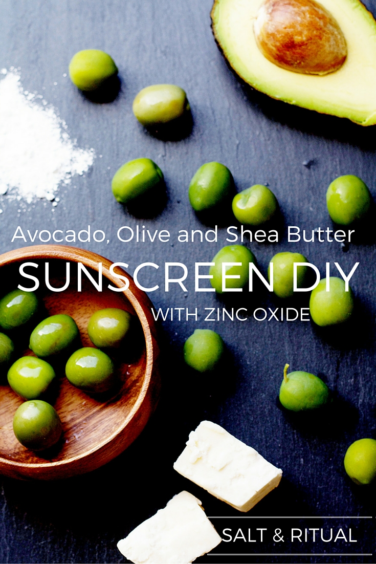 DIY Shea Butter Sunscreen Recipe with Zinc Oxide. Love the idea of making my own homemade sunscreen this year. The idea of store bought sunscreen filled with chemicals scares me. Definitely going to try this recipe, seems super easy to make with only five ingredients! Plus it has zinc oxide for extra protection. So trying this!