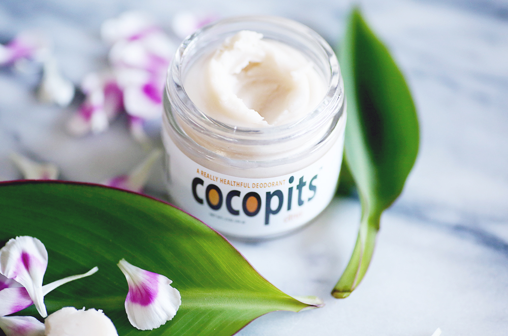 If you're like me and have been searching for a natural deodorant, look no more. CocoPits has come to the rescue. All natural with Organic Virgin Coconut Oil, Sodium Bicarbonate, Arrowroot Powder, Bees Wax, Vitamin E Oil, and Essential Oils.