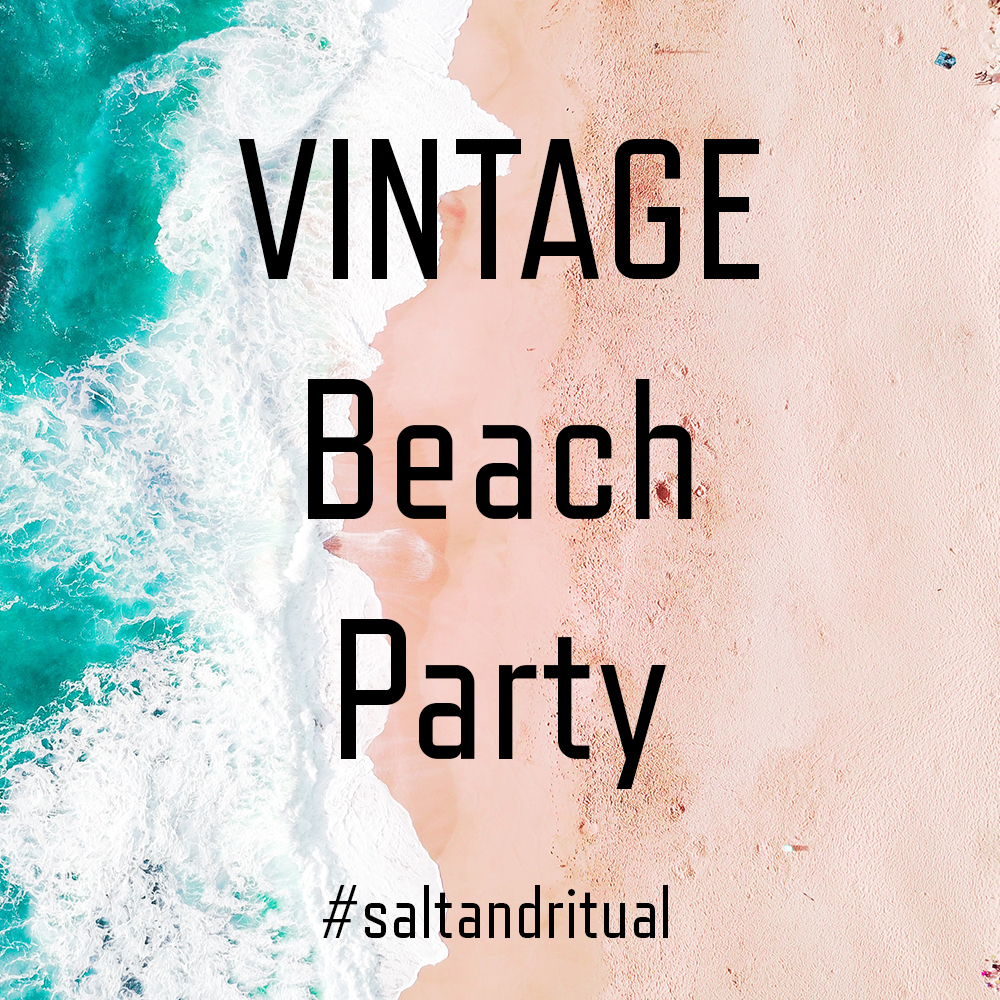 Party Playlist vintage 80s beach party playlist — salt & ritual
