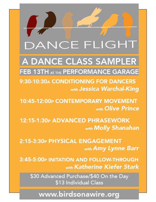 Dance Flight: Contemporary Dance Class Sampler