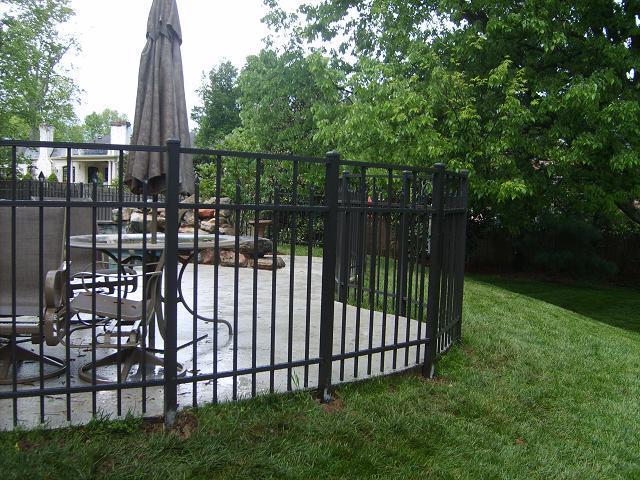 Aluminum Fence Nashville Tn K Amp C Fence Company