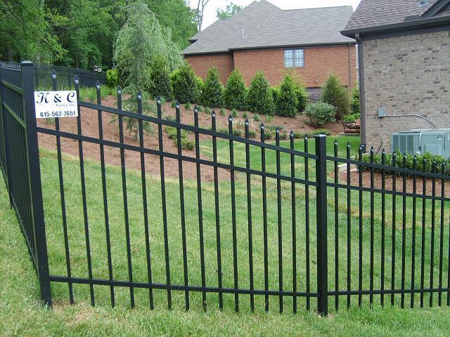 s1 bennington aluminum fence nashville