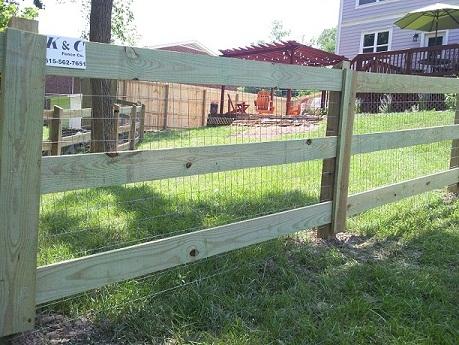 farm fence. 3 rail farm fence by k u0026 c nashville tn