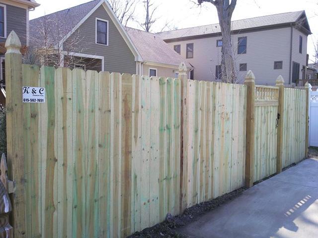 Privacy Fence Nashville Tn K Amp C Fence Company