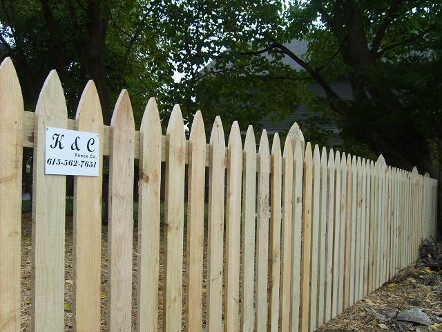 Picket Fences Company Nashville Tn K Amp C Fence Company
