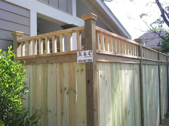Wood Fence Our Wood fencing is a natural product and offers many style options, not to mention a custom wood fence can be cut and shaped to make your vision come true.  Find out more about our Wood Fence
