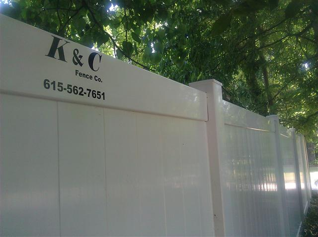 Vinyl-PVC Fence Our Vinyl - PVC fencing has many style options and is almost maintenance free, not to mention the money you save on staining when you install a Vinyl - PVC fence. Find out more about our Vinyl - PVC Fence.