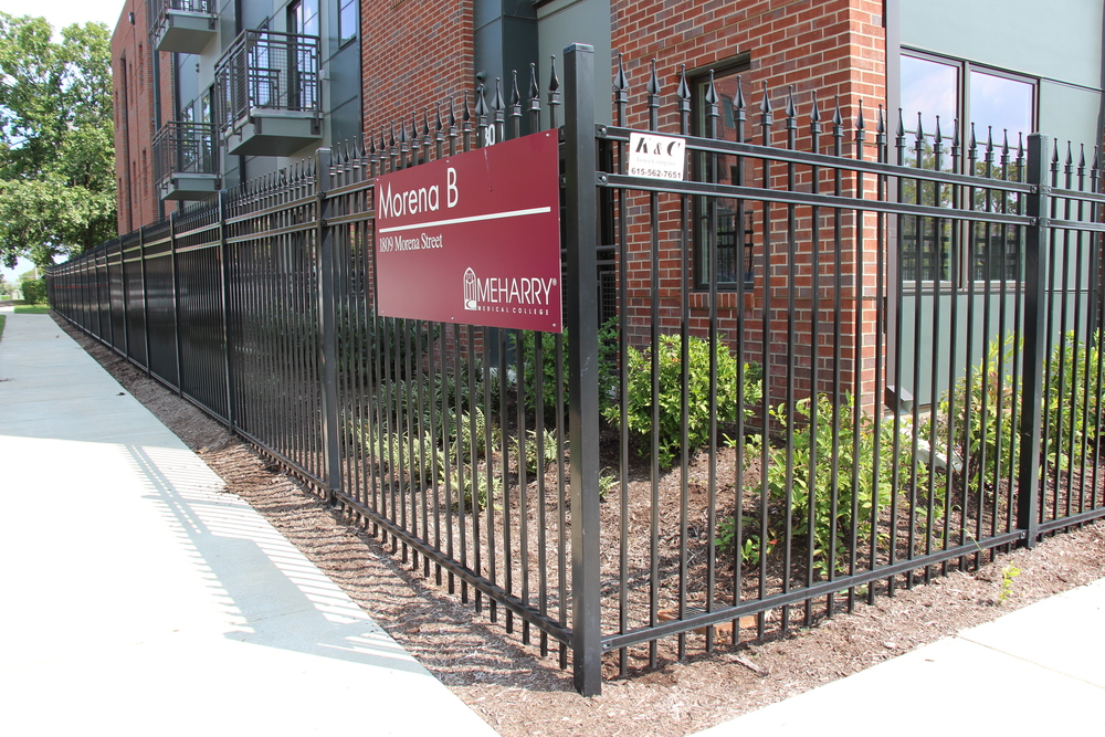 Steel Fence   Our Steel Fence gives that look of ornamental with the strength of steel, and is a great choice for your residential or commercial property. In addition, Steel fencing also comes with a 20 year warranty.  Find out more about our   Steel Fence  .