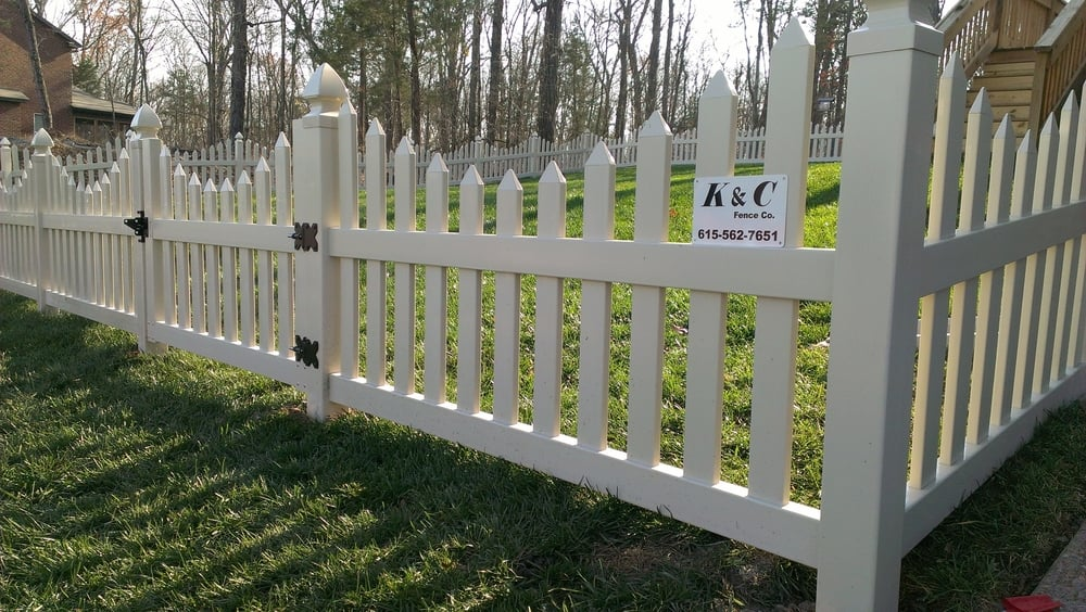 PVC Vinyl Picket Fence In Nashville