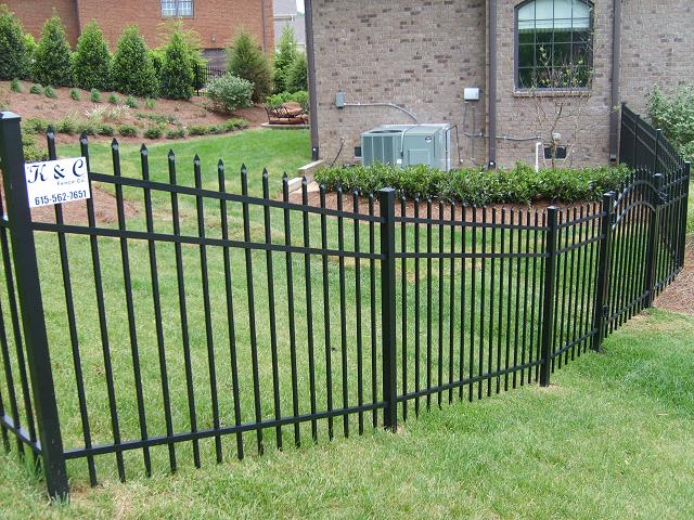Picture of Aluminum Fence Installed in Nashville