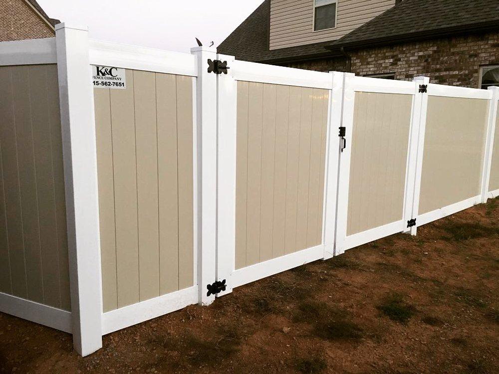 PVC Fence Installed In Nashville TN