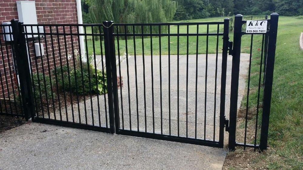 Residential Steel Fence Installed Nashville TN