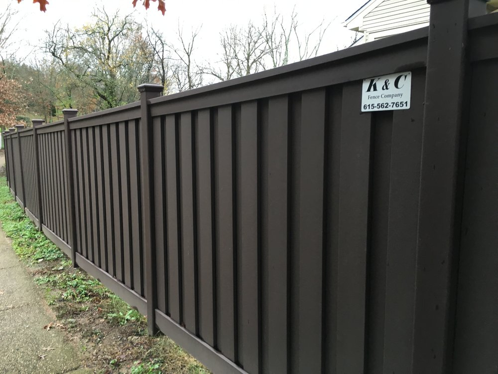 Composite Privacy Fence Installed Nashville TN