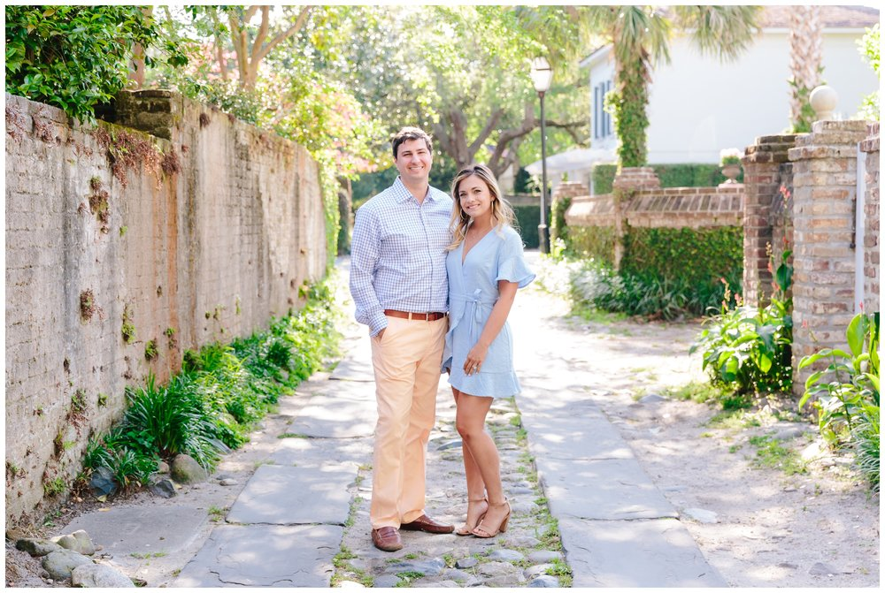 historic charleston, sc engagement session