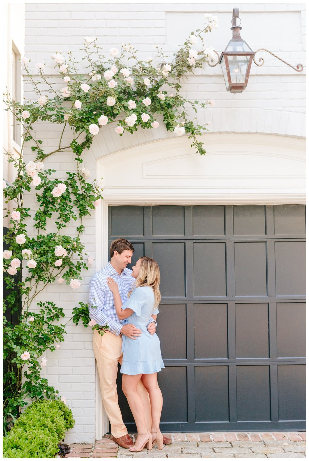 historic charleston engagement session