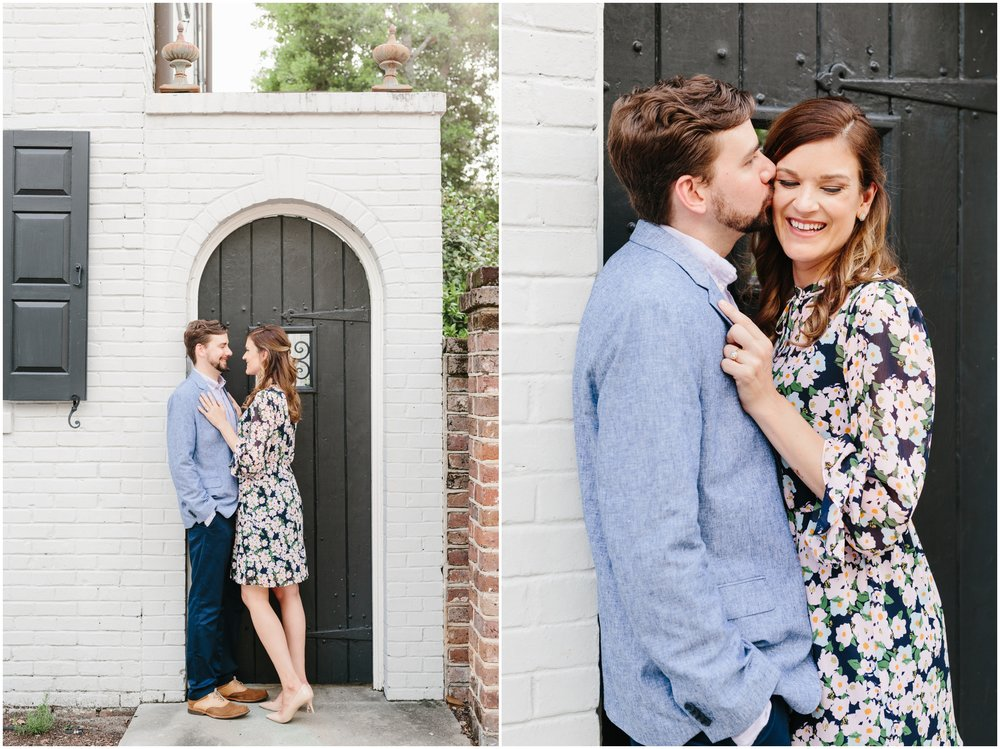 church street engagement session